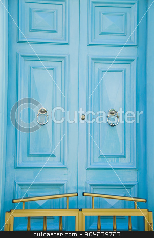 pims_20080607_ml0548 stock photo, Closed door of a house, Valletta, Malta by imagedb