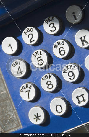 pims_20080610_ml0019 stock photo, Key pad of a telephone, Athens, Greece by imagedb