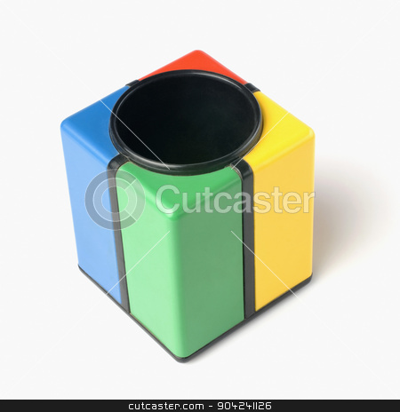 pims_20080924_sa0119 stock photo, Close-up of a stationery container by imagedb