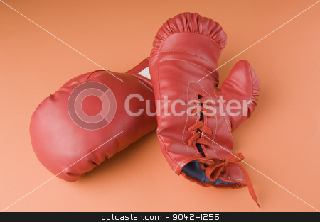pims_20080925_sa0319 stock photo, Close-up of a pair of boxing gloves by imagedb