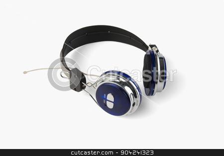 pims_20080926_sa0142 stock photo, Close-up of a headset by imagedb