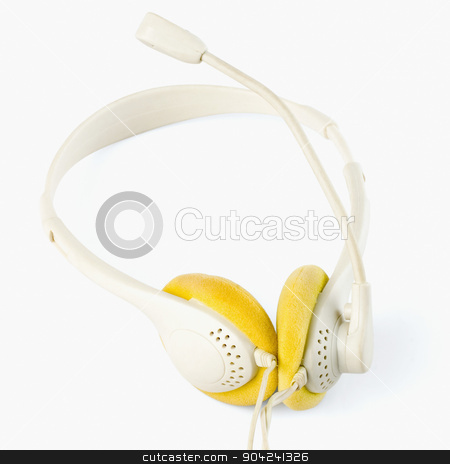 pims_20080926_sa0151 stock photo, Close-up of a headset by imagedb