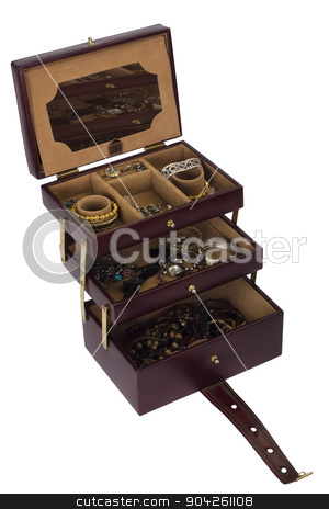 pims_20090702_as0195.JPG stock photo, Close-up of a jewelry box by imagedb