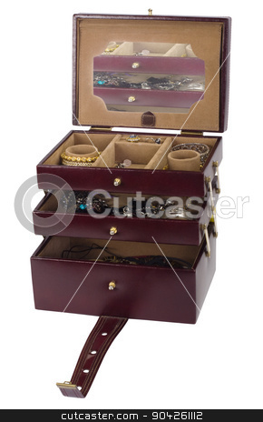pims_20090702_as0208.JPG stock photo, Close-up of a jewelry box by imagedb