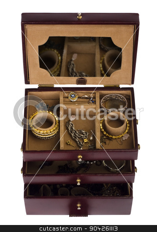pims_20090702_as0210.JPG stock photo, Close-up of a jewelry box by imagedb