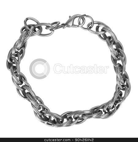 pims_20090702_as0302.JPG stock photo, Close-up of a chain bracelet by imagedb