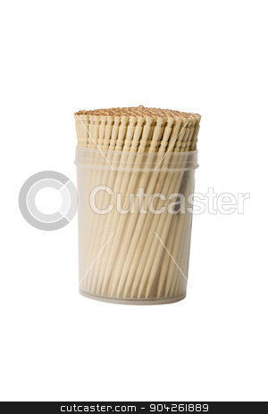 pims_20090625_as0201.jpg stock photo, Close-up of toothpicks in a container by imagedb