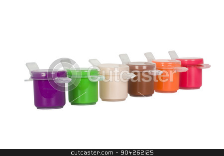 pims_20090629_as0176.jpg stock photo, Close-up of watercolor paints by imagedb