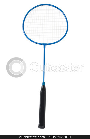 pims_20090629_as0843.jpg stock photo, Close-up of a badminton racket by imagedb