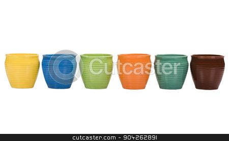 pims_20090706_as0072.JPG stock photo, Close-up of ceramic pots by imagedb