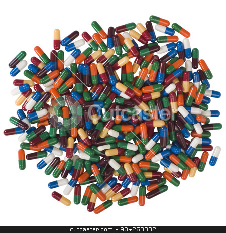 pims_20090711_as0464.JPG stock photo, Close-up of assorted capsules by imagedb