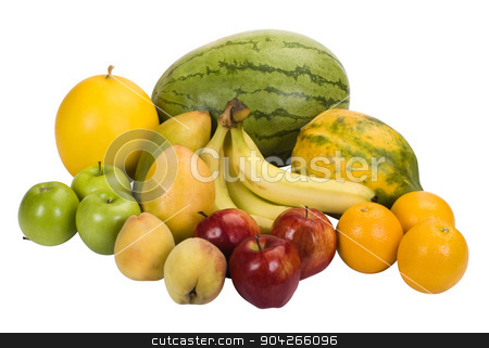 pims_20090718_as0442.JPG stock photo, Close-up of assorted fruits by imagedb