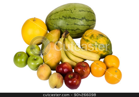 pims_20090718_as0444.JPG stock photo, Close-up of assorted fruits by imagedb