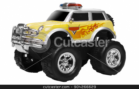 pims_20090727_as0537.JPG stock photo, Close-up of a toy monster truck by imagedb