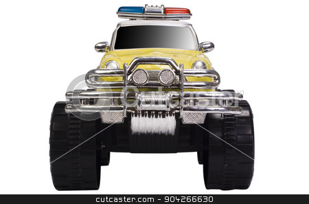 pims_20090727_as0538.JPG stock photo, Close-up of a toy monster truck by imagedb