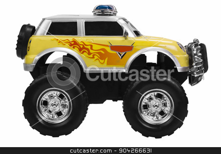 pims_20090727_as0540.JPG stock photo, Close-up of a toy monster truck by imagedb