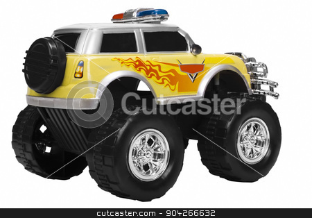 pims_20090727_as0541.JPG stock photo, Close-up of a toy monster truck by imagedb