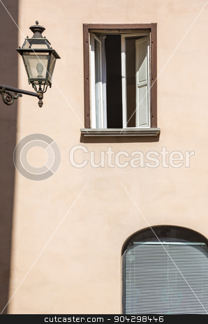 Window of a house stock photo, Window of a house, Volterra, Province of Pisa, Tuscany, Italy by imagedb