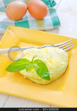 omelette stock photo, omelette by tycoon