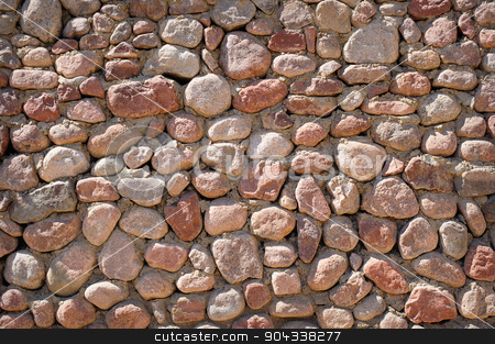 texture of stone wall stock photo, texture of stone wall. by timonko