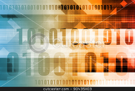 Internet Concept stock photo, Internet Concept with Multiple Data Channels Art by Kheng Ho Toh