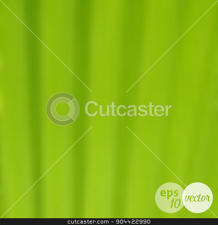 Blurred background green leaf texture stock vector clipart, Vector blurred background green leaf macro texture by blumer