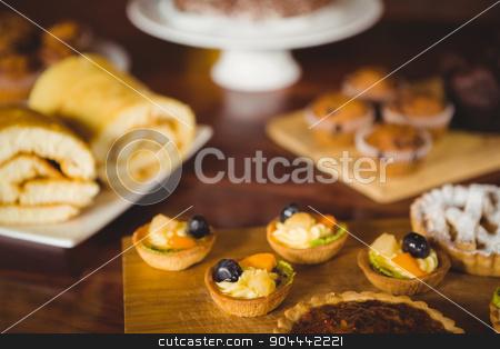 Several treats on the counter stock photo, Several treats on the counter at coffee shop by Wavebreak Media