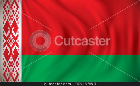Flag of Belarus stock vector clipart, Flag of Belarus - vector illustration by ojal_2