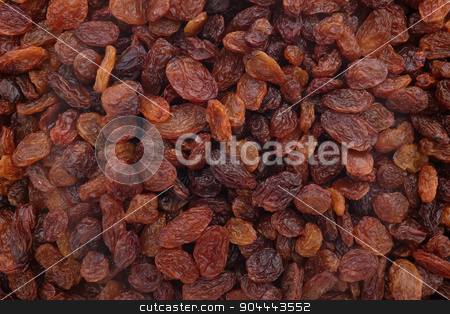 Sultanas background stock photo, Sultanas as an abstract background texture by Sarah Marchant