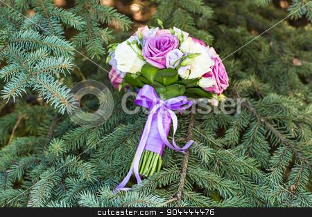 close up of wedding bouquet stock photo, close up of wedding bouquet. bridal bouquet by Satura86