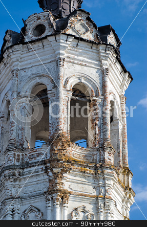 Old church in Tobolsk. Russia stock photo, Krestovozdvizhensky church (Vozdvizheny Kresta Gospodnya's Church). Tobolsk. Russia by Aikon