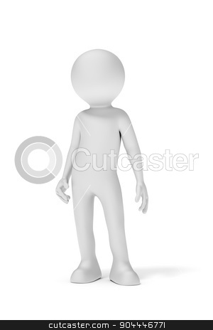 man render stock photo, An image of a simple standing man by Markus Gann