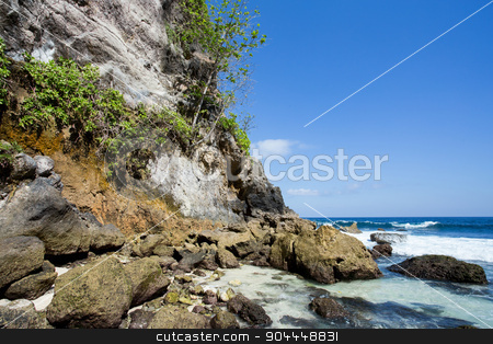 coastline at Nusa Penida island  stock photo, coastline at Nusa Penida island, Tembeling Nusa Penida, Bali Indonesia by Artush