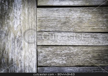 Texture and pattern of old wooden stock photo, Texture and pattern of old wooden background by manusy