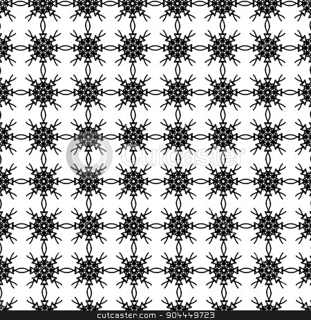 Ornamental Pattern stock vector clipart, Abstract Geometric Ornaments. Decorative Retro Background. Ornamental Pattern by valeo5
