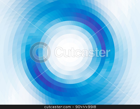 vector mosaic tiles stock vector clipart, vector composition with grid, tiles, gradient effect by Galina Pankratova