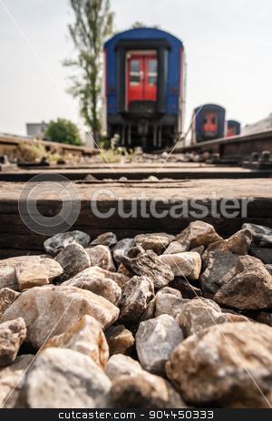Railway Tracks Near Haydarpasa stock photo, Railway tracks near Haydarpasa, an important central station in Istanbul by OZMedia