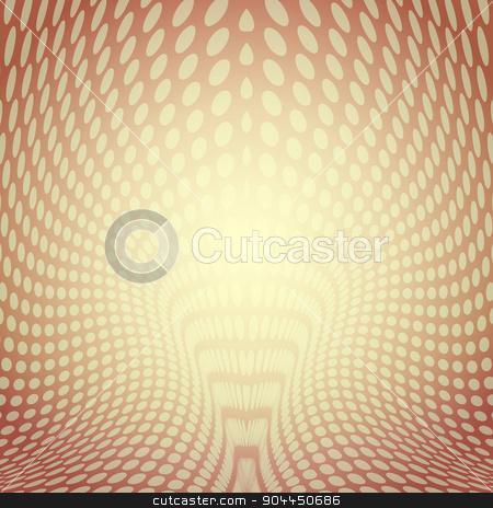 Dots ornate modern illustration stock vector clipart, Dots ornate background.Background texture vector.Abstract modern illustration.Web page background.Halftone background design. by Pavel Skrivan