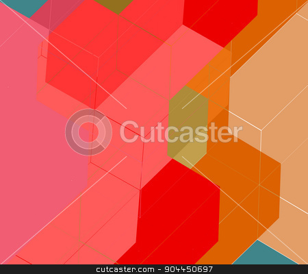 Abstract modern illustration web page background stock vector clipart, Triangle abstract vector.Background texture vector.Abstract modern illustration.Web page background.Halftone background design. by Pavel Skrivan