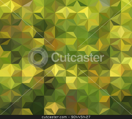 vector geometric background stock vector clipart, vector composition with grid, tiles, 3d effect by Galina Pankratova