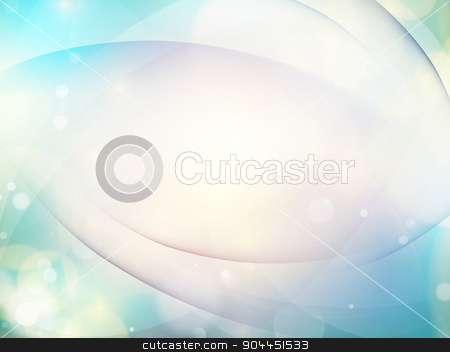 Abstract blue background. EPS 10 stock vector clipart, Abstract blue background with smooth lines. EPS 10 vector file included by Vladimir Petrov