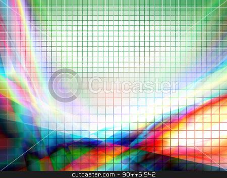 vector geometric composition stock vector clipart, beautiful vector geometric composition, eps10 with transparency by Galina Pankratova