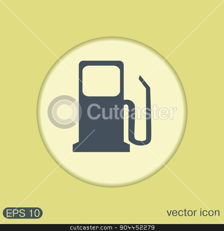 gas station. symbol gas station . Gasoline and fuel. stock vector clipart, gas station. symbol gas station . Gasoline and fuel. by LittleCuckoo