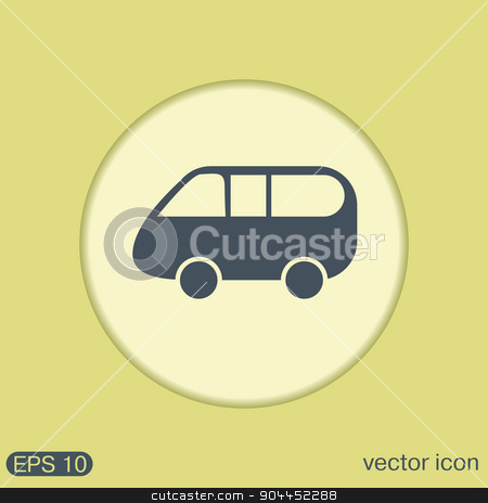 Icon car. Vehicles. icon of transport. stock vector clipart, Icon car. Vehicles.  icon of transport. by LittleCuckoo