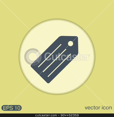 label. Symbol label for clothing or goods. stock vector clipart, label. Symbol label for clothing or goods. by LittleCuckoo