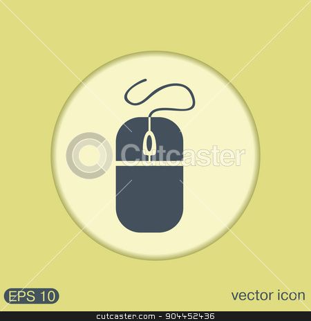 computer mouse stock vector clipart, computer mouse by LittleCuckoo