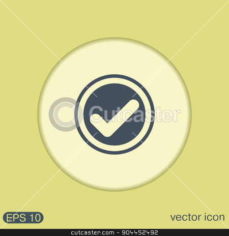 the add symbol. stock vector clipart, the add symbol sign. Ok sign by LittleCuckoo