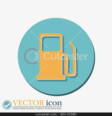 gas station. symbol gas station . Gasoline and fuel. stock vector clipart, gas station. symbol gas station . Gasoline and fuel. by LittleCuckoo