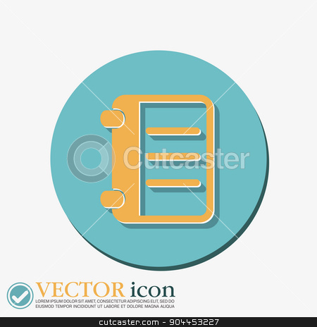 phone address book stock vector clipart, phone address book by LittleCuckoo