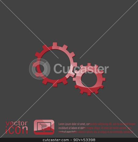 cogwheel, icon setting and repair, symbol settings.  stock vector clipart, cogwheel, icon setting and repair, symbol settings.  by LittleCuckoo